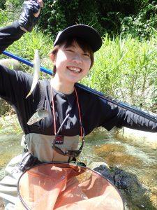 大芦川 鮎の友釣り