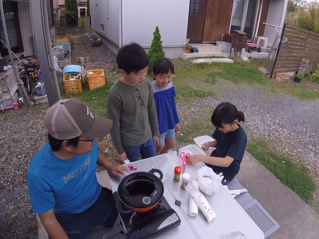 釣った魚を調理