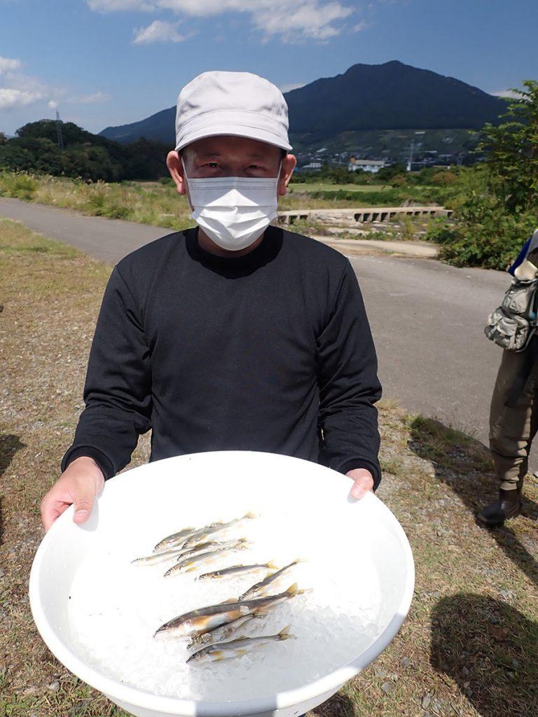 アユ毛バリ釣り体験教室
